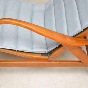 swedish vintage reclining armchair