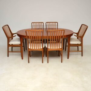 1960's Danish Teak Extending Dining Table by IB Kofod Larsen