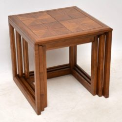 1960's Vintage Nest of Tables by G- Plan in Elm