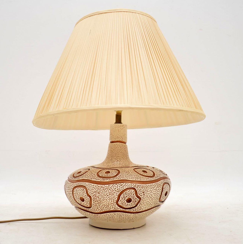 vintage ceramic lamp