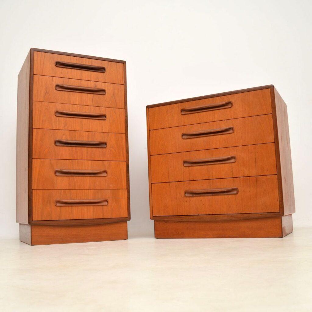 teak vintage g- plan chest of drawers