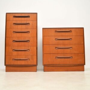 teak vintage g- plan chest of drawers