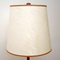 1960's Vintage Danish Rosewood & Chrome Lamp