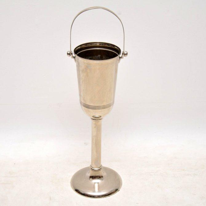 vintage champagne bucket wine cooler