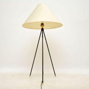 1950's Vintage Brass & Steel Telescopic Lamp