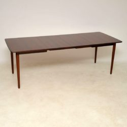 1960's Vintage Rosewood Dining Table by Rastad & Relling for Bahus