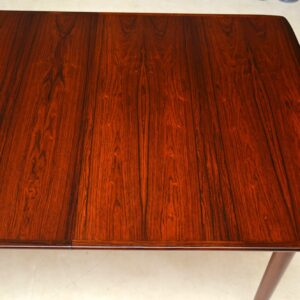 danish rosewood dining table rastad and relling