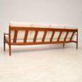 1960's Danish Teak Four Seat Sofa by Grete Jalk for France & Son