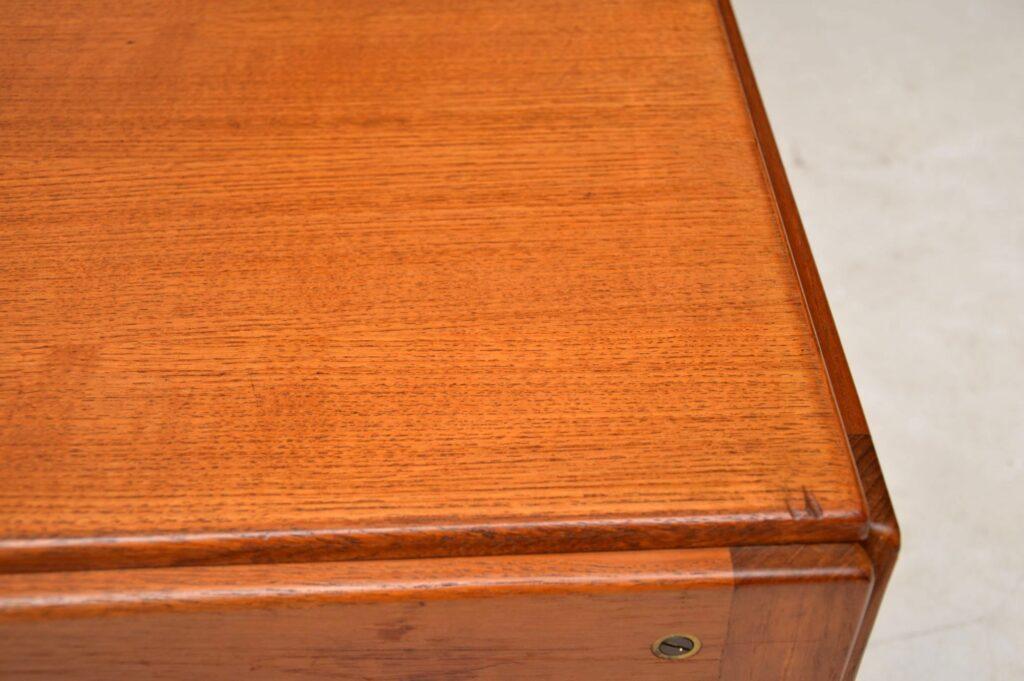pair of danish teak side tables by illum wikkelso plexus
