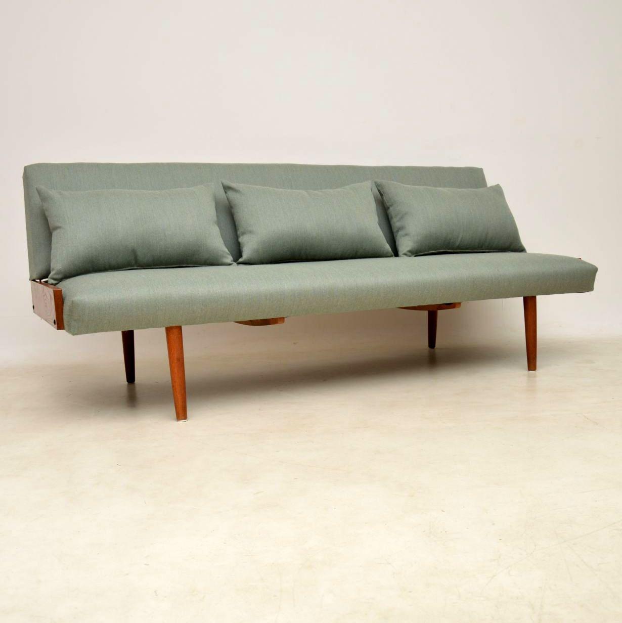 1950's Vintage Danish Sofa Bed