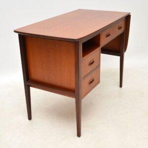 danish teak vintage desk
