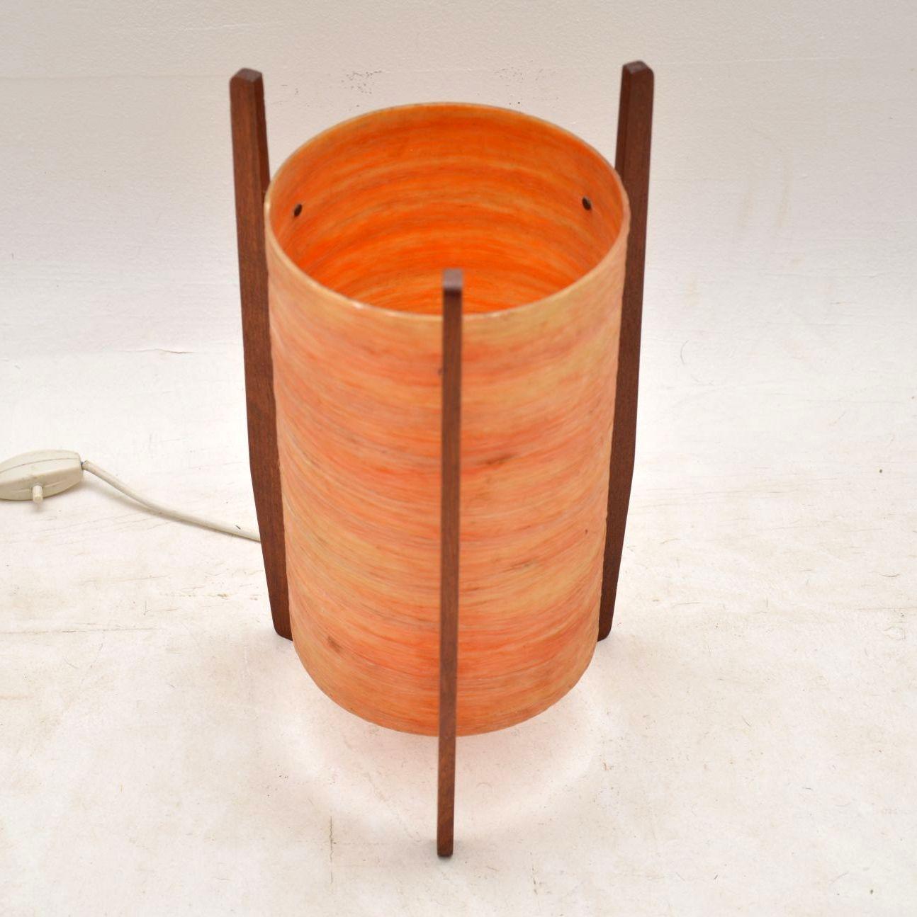 1960's Spun Fiberglass Vintage Rocket Lamp | Retrospective