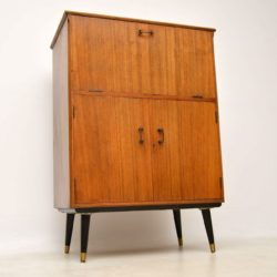 1950's Vintage Walnut Drinks Cabinet
