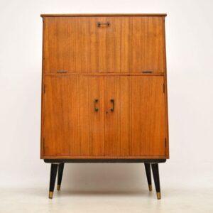 1950's Vintage Walnut Drinks Cabinet