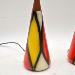 pair of vintage 1960's table lamps