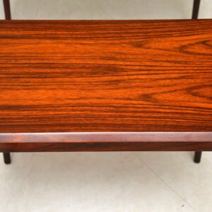 danish rosewood nest of tables johannes andersen