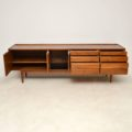1960's Vintage Walnut Sideboard by Robert Heritage for Archie Shine