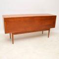 1950's Vintage Rosewood & Mahogany Sideboard by Uniflex