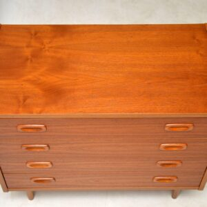1960's Vintage Danish Chest of Drawers
