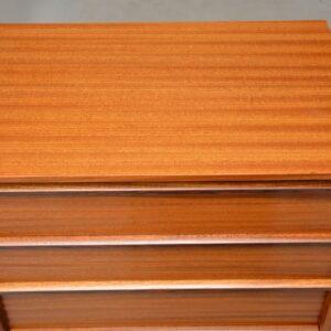 retro vintage teak chest of drawers