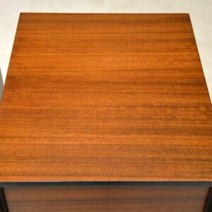 1950's Vintage Pair of Walnut Bedside Chests by John & Sylvia Reid for Stag