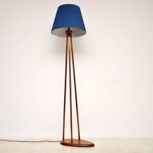 1960's Vintage Copper Floor Lamp
