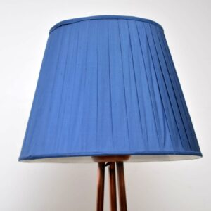 vintage copper floor lamp