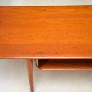 danish teak coffee table peter hvidt orla molgaard nielsen