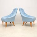 1960's Pair of Swedish 'Paradiset' Armchairs by Kerstin Horlin Holmquist