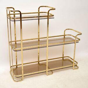 vintage italian brass cabinet