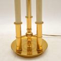 1970's Vintage French Brass Table Lamp