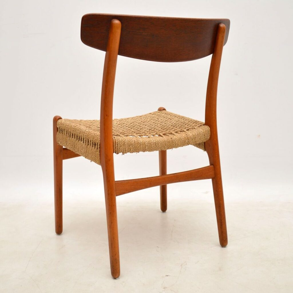 danish hans wegner ch-23 chair