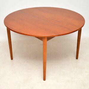 1950's Danish Teak & Oak Dining Table & Chairs by Hans Wegner for Fritz Hansen