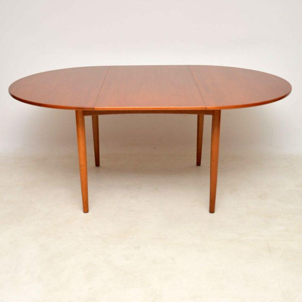 vintage danish teak dining chairs table by hans wegner fritz hansen