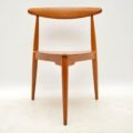 1950's Danish Teak & Oak Dining Table & Chairs by Hans Wegner for Fritz Hansen