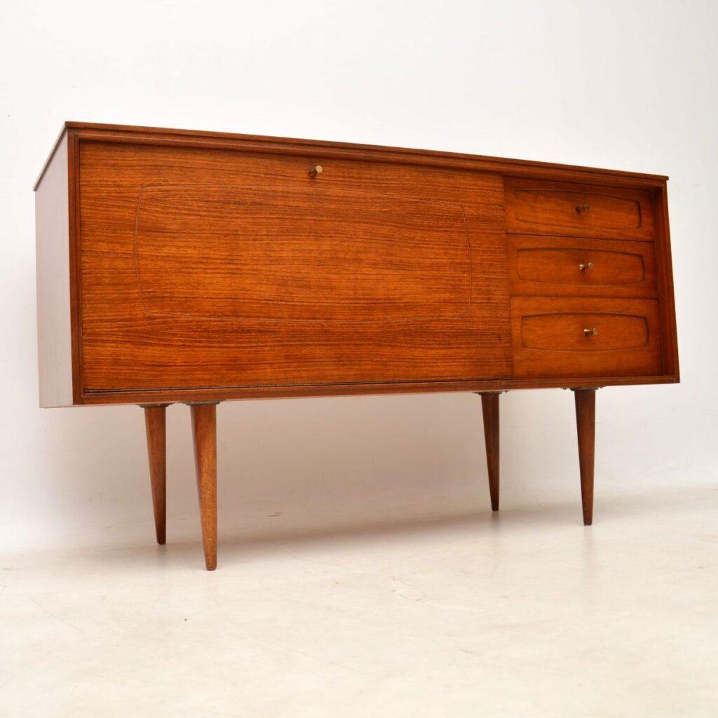 rosewood vintage danish sideboard
