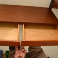 1960's Vintage Danish Wall Unit / Bookcase / Desk by Kai Kristiansen