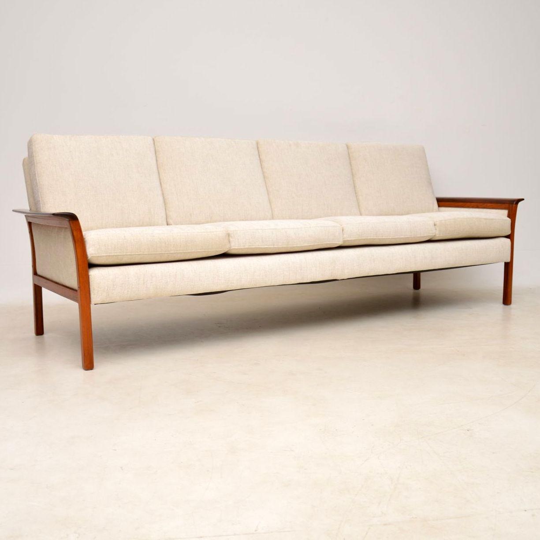 1960u0027s Scandinavian Rosewood Sofa By Knut Saeter For Vatne Mobler