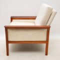 1960's Pair of Rosewood Scandinavian Armchairs by Knut Saeter for Vatne Mobler