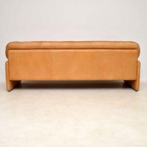 de sede vintage leather sofa