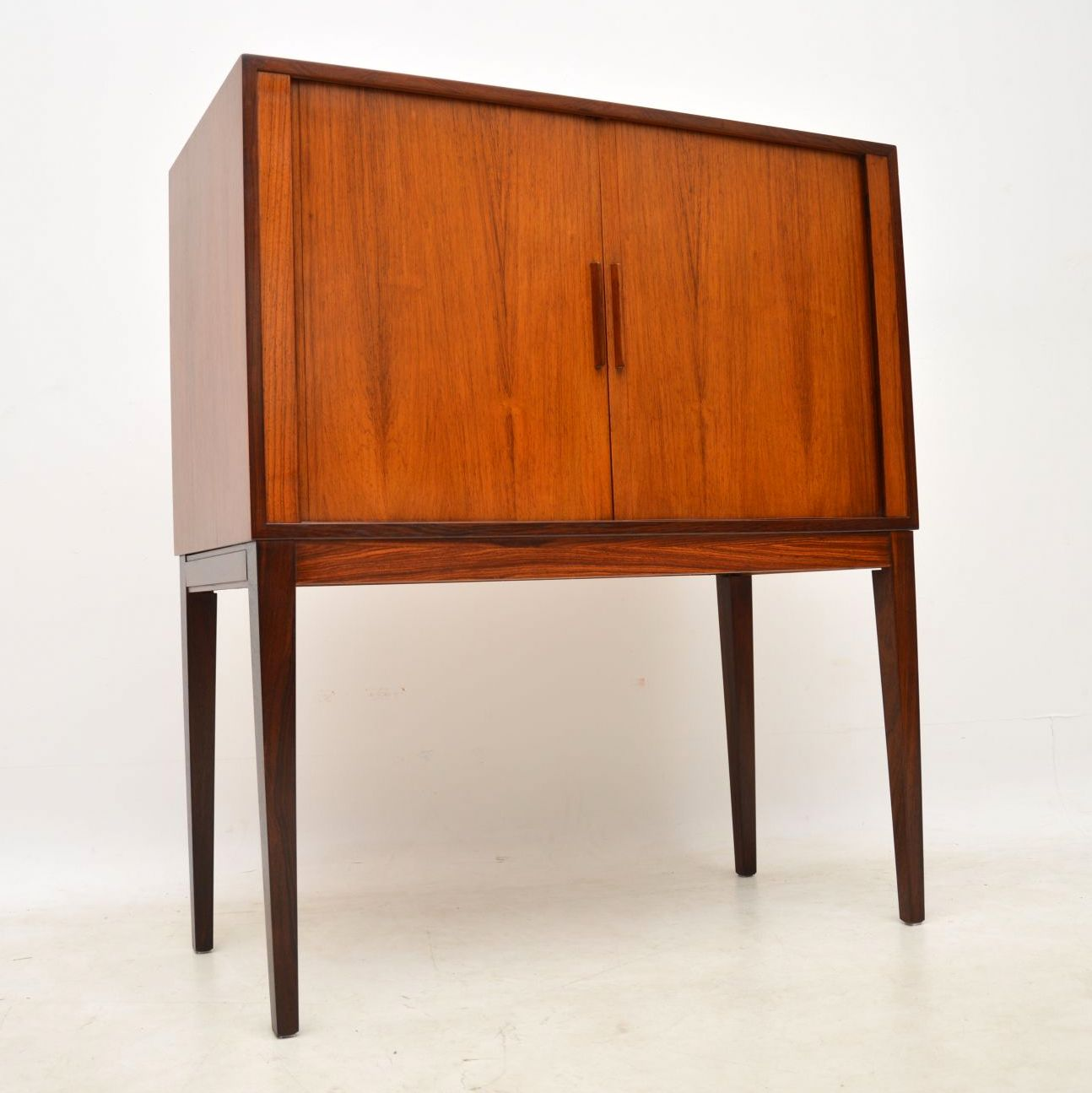 vintage danish rosewood drinks cabinet