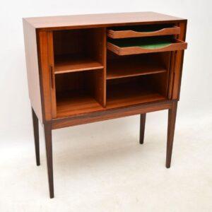 1960's Vintage Danish Rosewood Drinks Cabinet