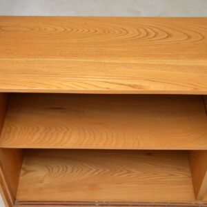 vintage gordon russell bookcase in ash and rosewood