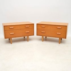 1950's Vintage Pair of Side Chests by John & Sylvia Reid for Stag