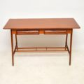 1950's Vintage Mahogany Italian Desk / Writing Table