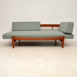 danish teak sofa daybed by kofod larsen