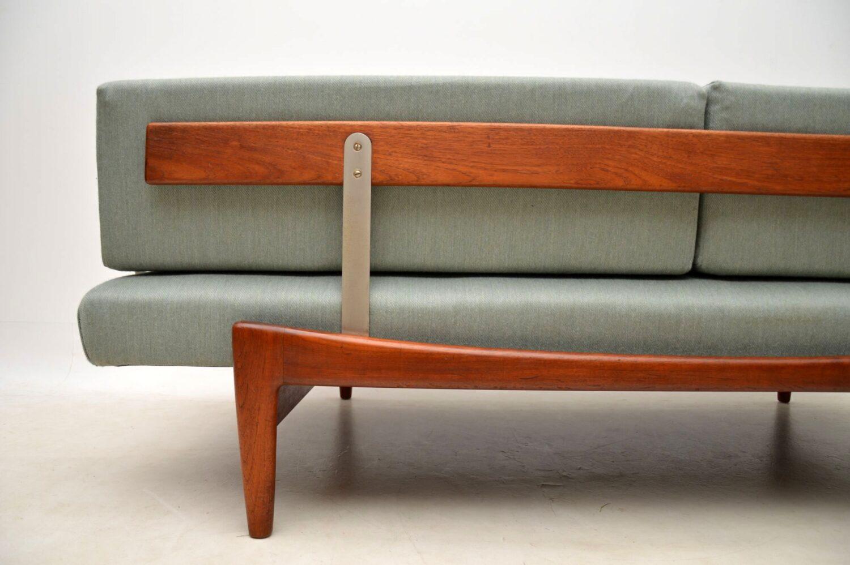 danish teak sofa daybed by kofod larsen