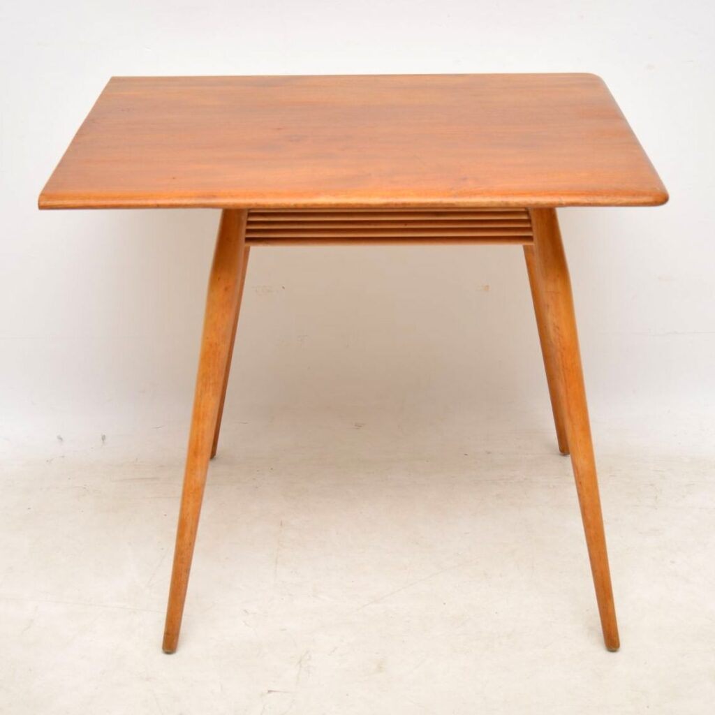 vintage ercol dining table and chairs