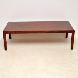 1960's Danish Rosewood Coffee Table by Vejle Stole