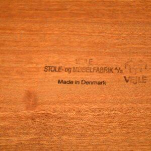 vintage danish rosewood nest of tables